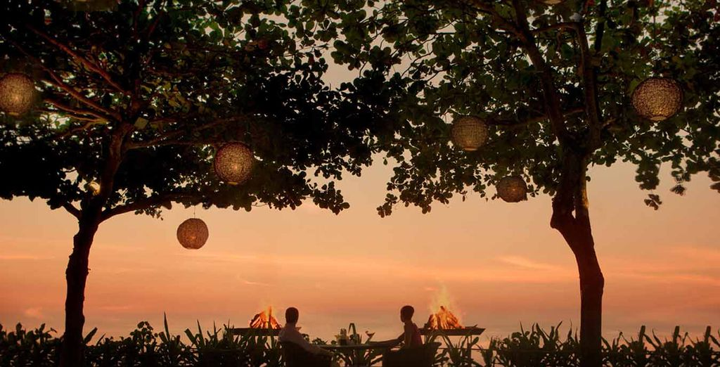 Then watch one of Bali's famously beautiful sunsets...