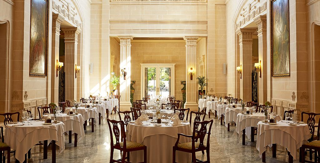 The grand surroundings will ensure a memorable evening