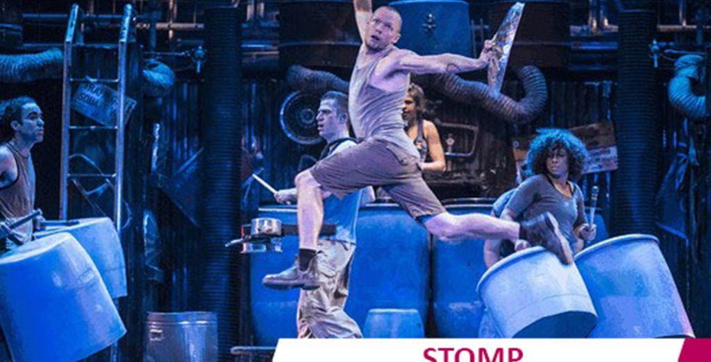 The thrills of Stomp!