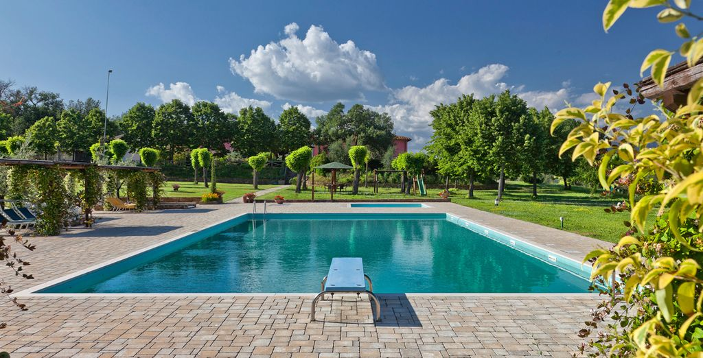 Cool off in the pool surrounded by exceptional views