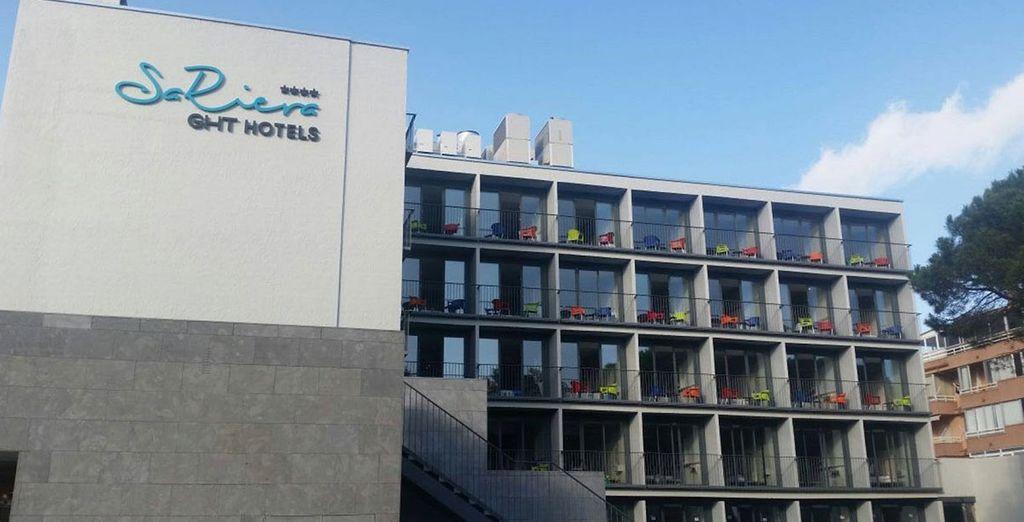 A new, contemporary hotel