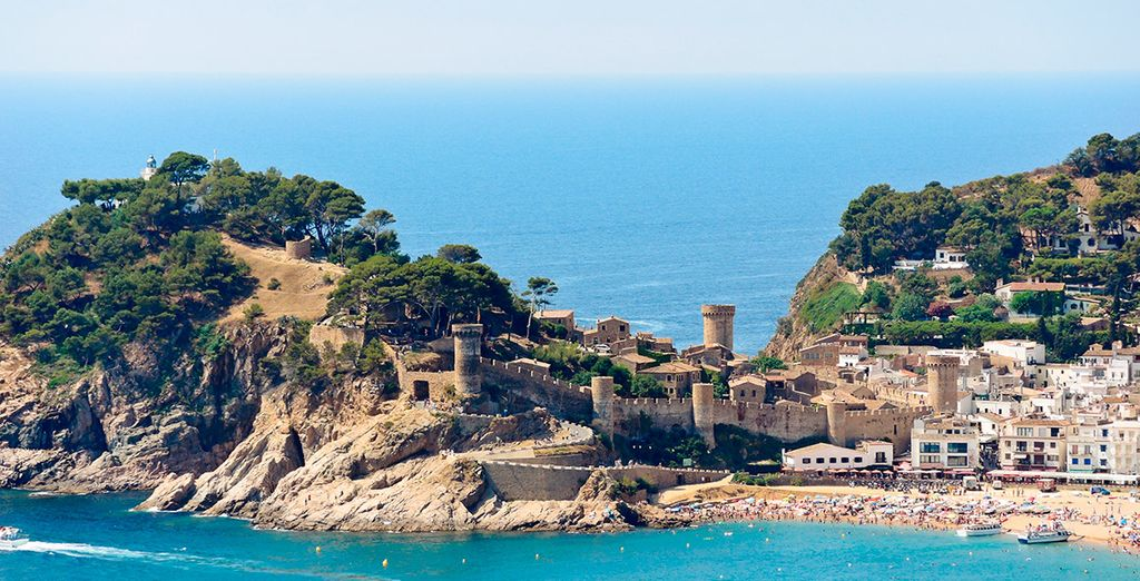 As well as the rest of the Costa Brava...