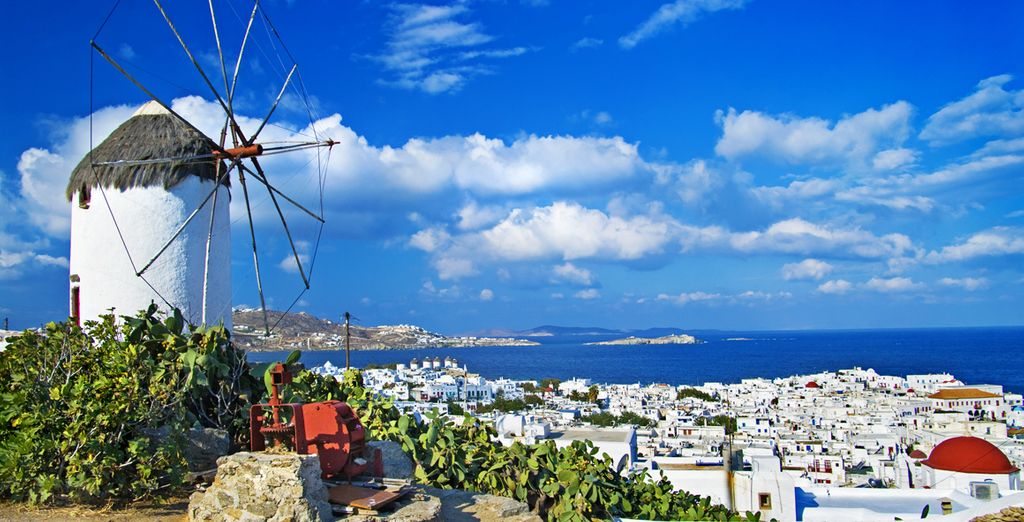 The island charm of Mykonos