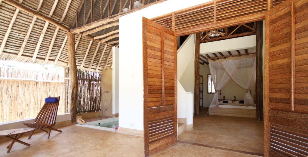 Furnished in a traditional Zanzibari style