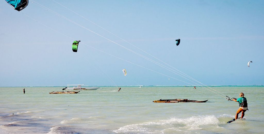There is myriad of water sports available for those in search of a more active holiday
