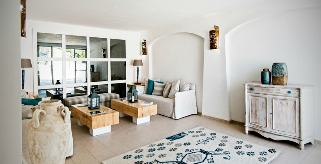 Lounge in calm spaces