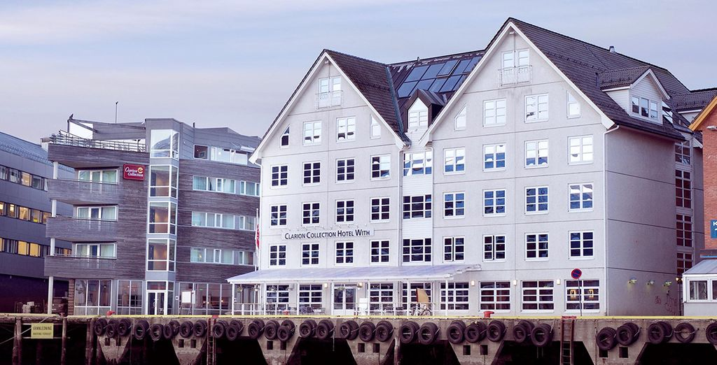 Stay in the Clarion Collection Hotel With