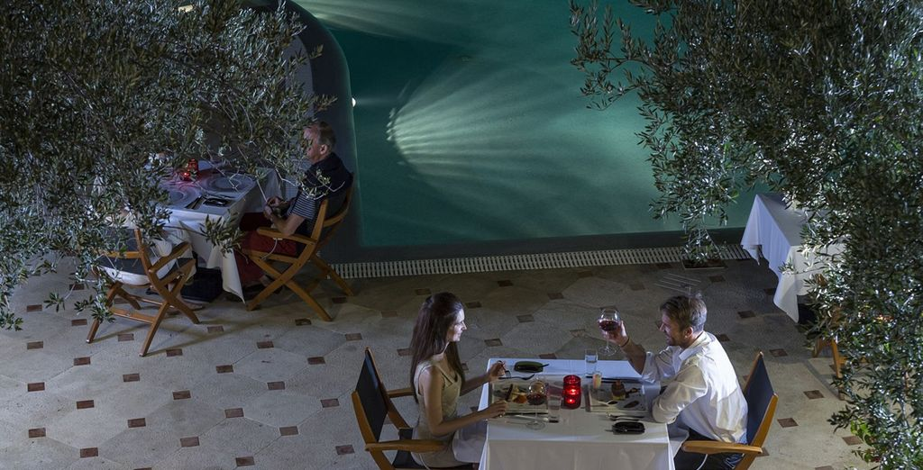 Or maybe by the poolside for true romance