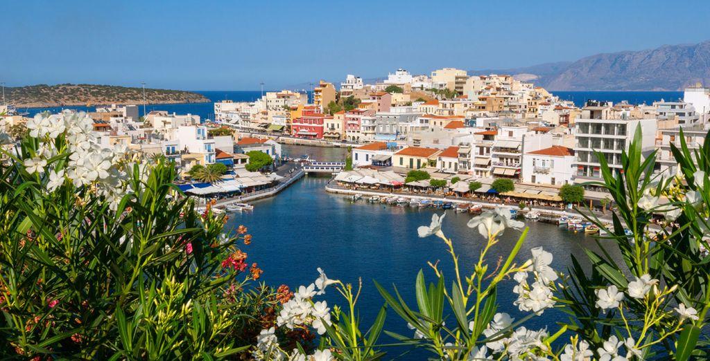 Explore the nearby coastal town of Agios Nikolaos