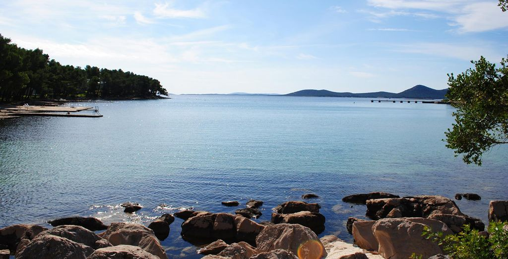 Relish the calm atmosphere of this part of Croatia