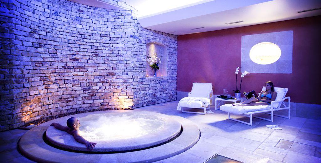 Seduce your senses in the spa