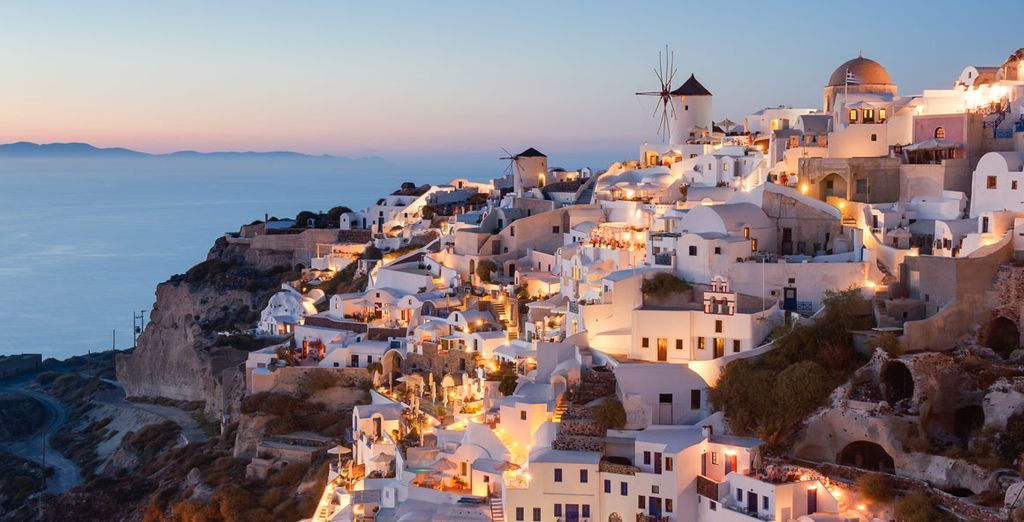 Admire some of the most beautiful sunsets in the Aegean