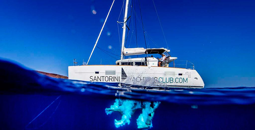 Why not add a boat tour to this offer and experience the azure waters around this beautiful island