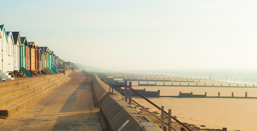 Or head to nearby Frinton on Sea for an afternoon at the beach