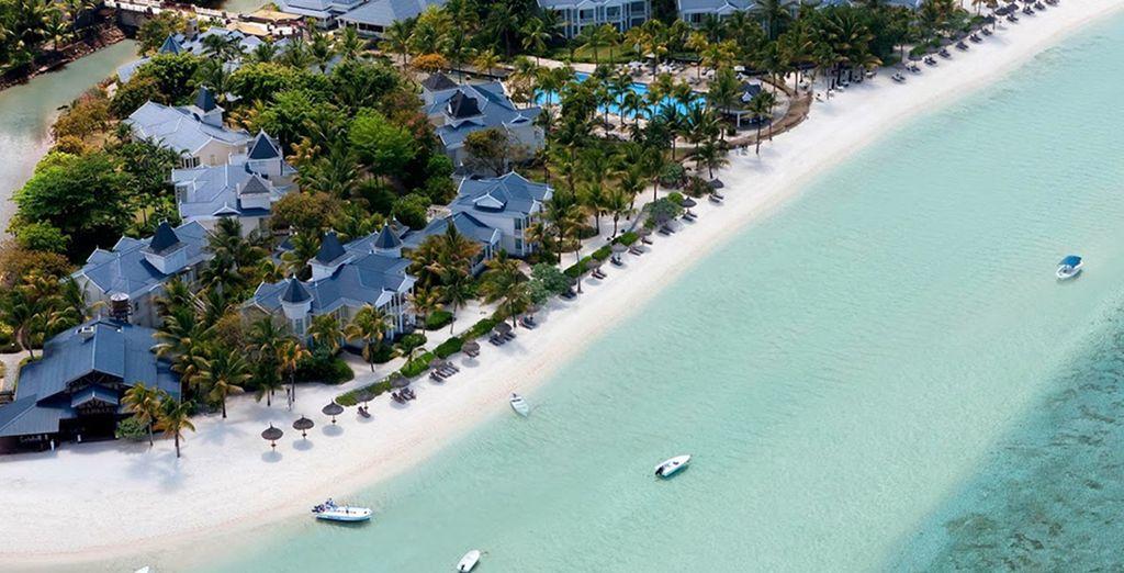 ...the beach paradise of Mauritius