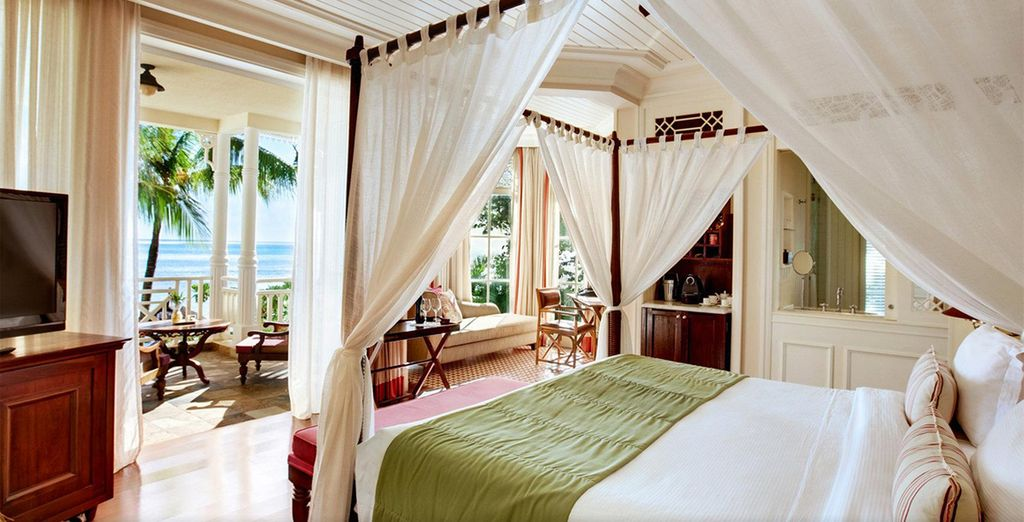 Where you can enjoy a stunning Junior Suite