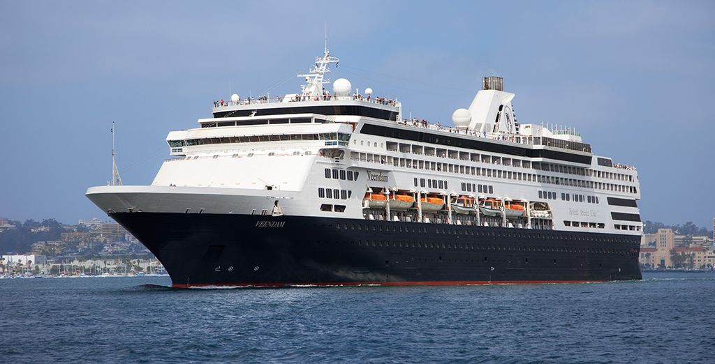 All aboard the MS Veendam!