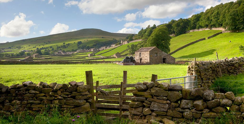 The spectacular Yorkshire Dales are waiting...