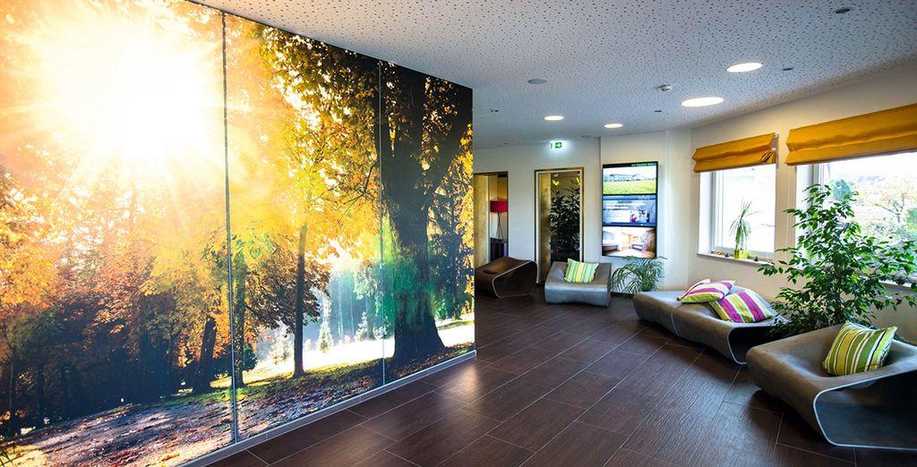 Enter your modern hotel