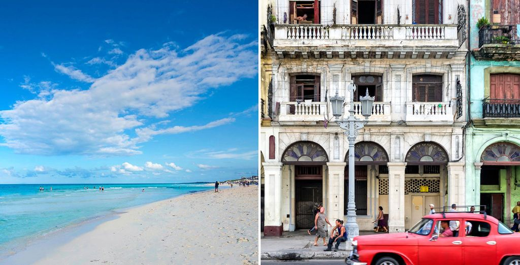 Experience two striking sides of Cuba