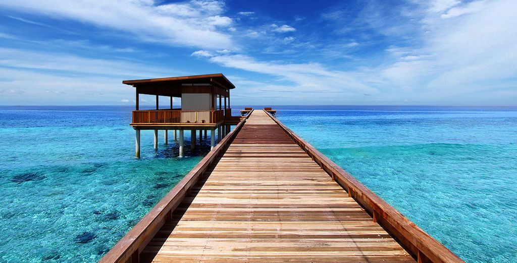 Pull up to the private jetty on a speedboat... - Park Hyatt Maldives 5* Male