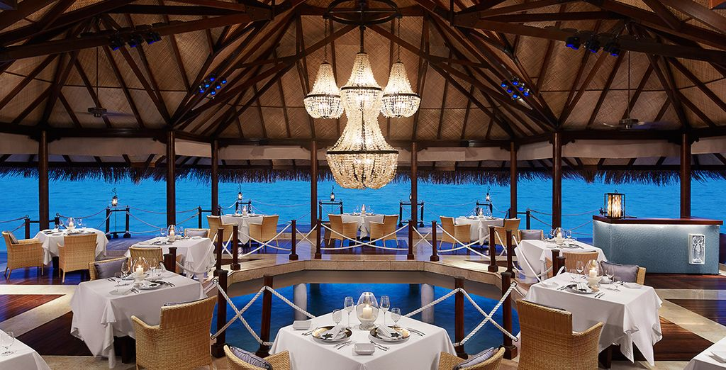 Half Board dining is included...