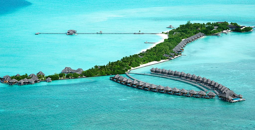 In the beautiful Maldives... - Taj Exotica Resort And Spa 5* Male
