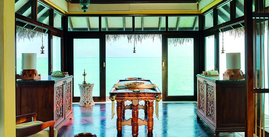 Visit the spa for an indulgent treatment