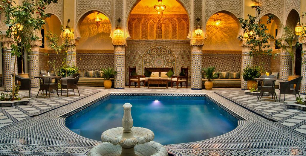 Cool off in the tranquil pool - Riad Salam Fes 5* Fes