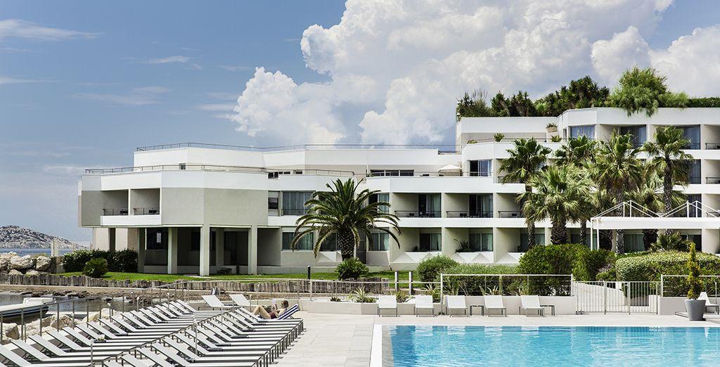 Pullman Marseille Palm Beach 4* - best hotel in Marseille