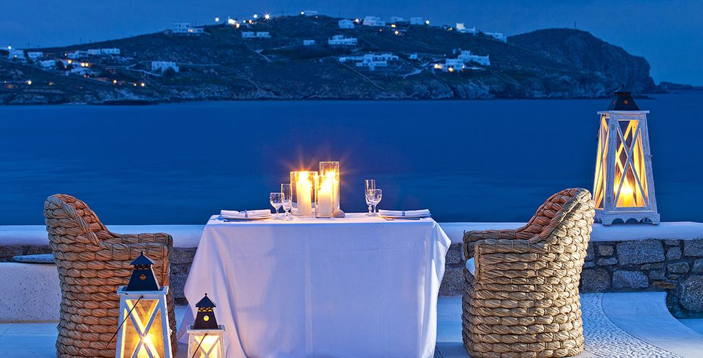 For a romantic meal to remember