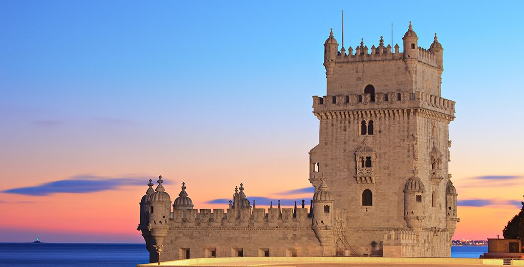 The historic Belem Tower