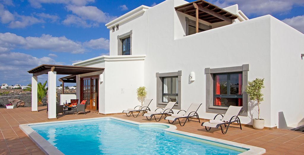 Are these spacious private pool villas...