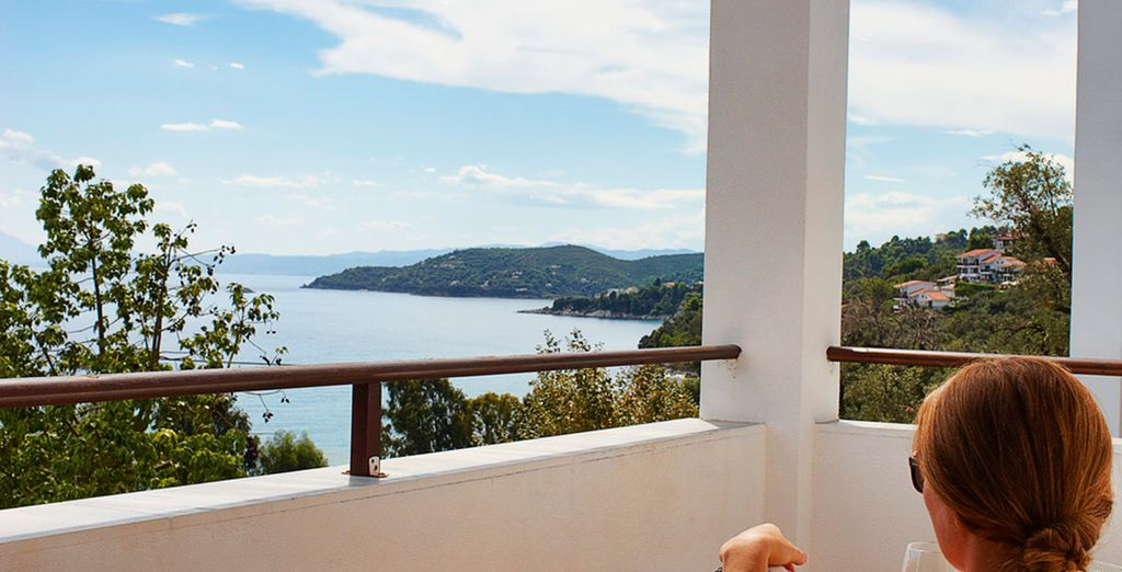 With fantastic sea views from your balcony