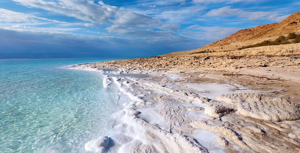 Then take a dip in the salty waters of the Dead Sea