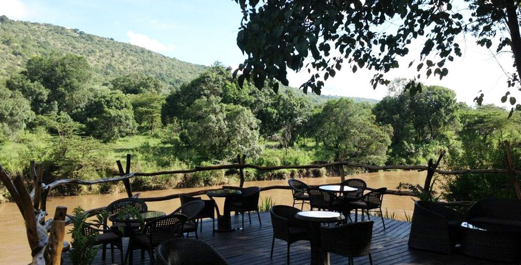 Then spend 3 nights at Mara River Camp