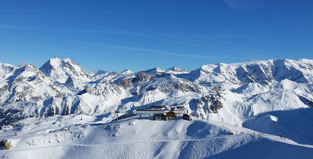 Nestled in the heart of 3 Valleys - the largest ski area in the world