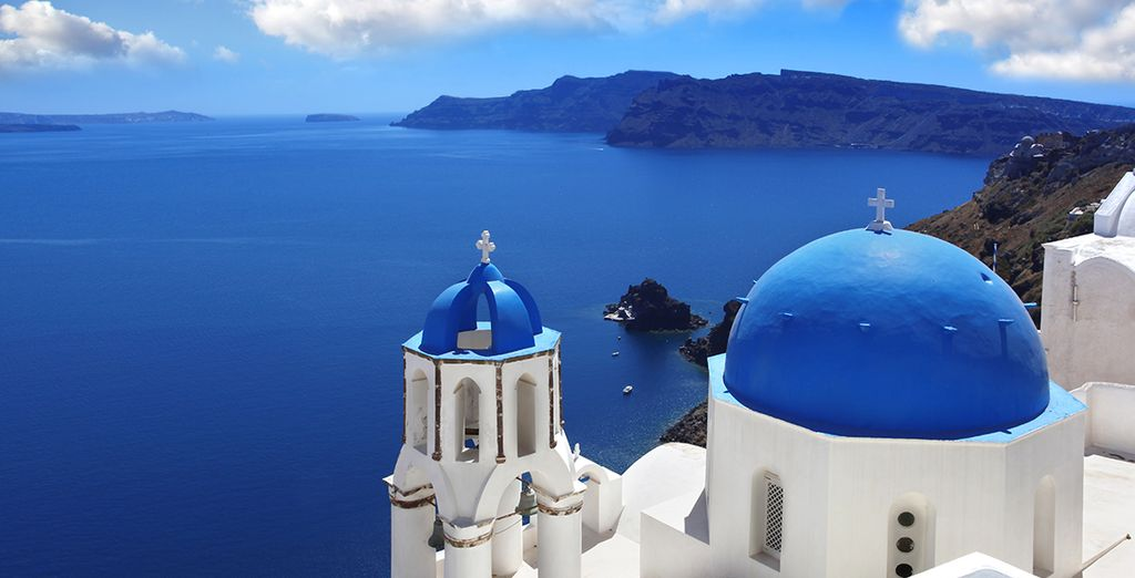 Or out to explore Oia