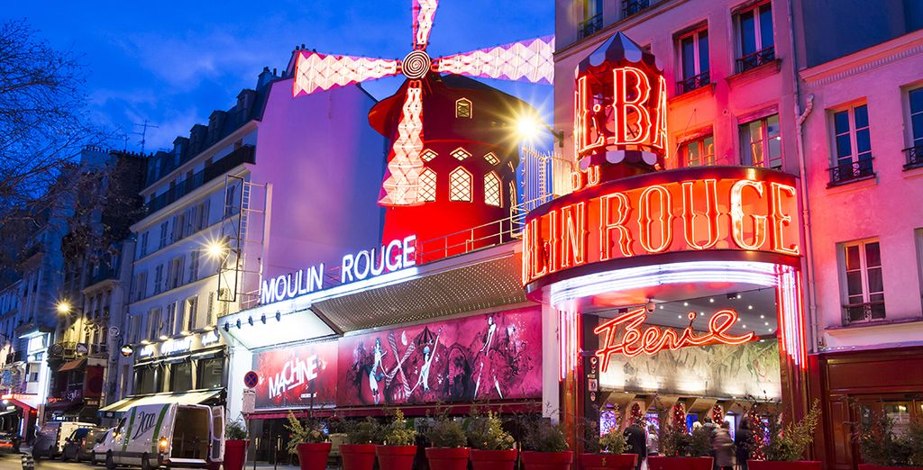 You're in the famed Pigalle area