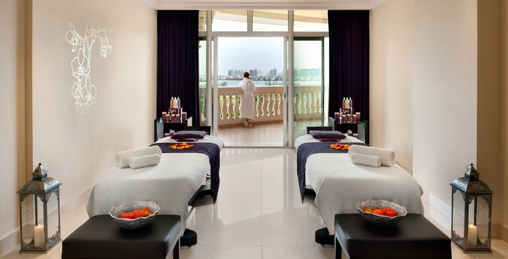 Indulge youself with a luxurious spa treatment