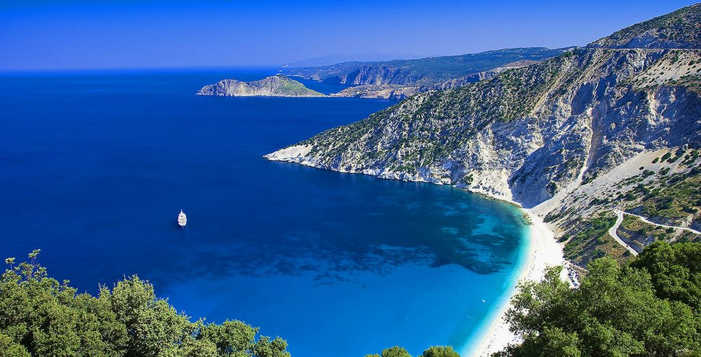 Explore the crystal clear shores with inclusive car hire