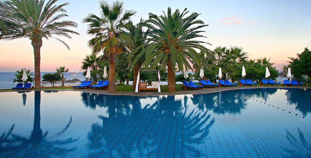 Enjoy a beautiful Cypriot spa retreat