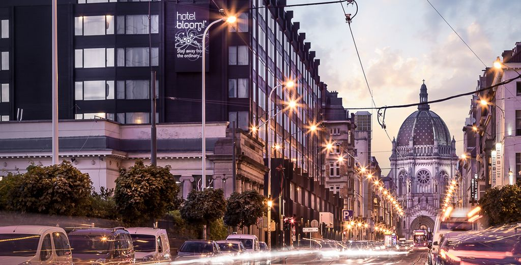 Enjoy a boutique stay in Brussels - Hotel Bloom 4* Brussels