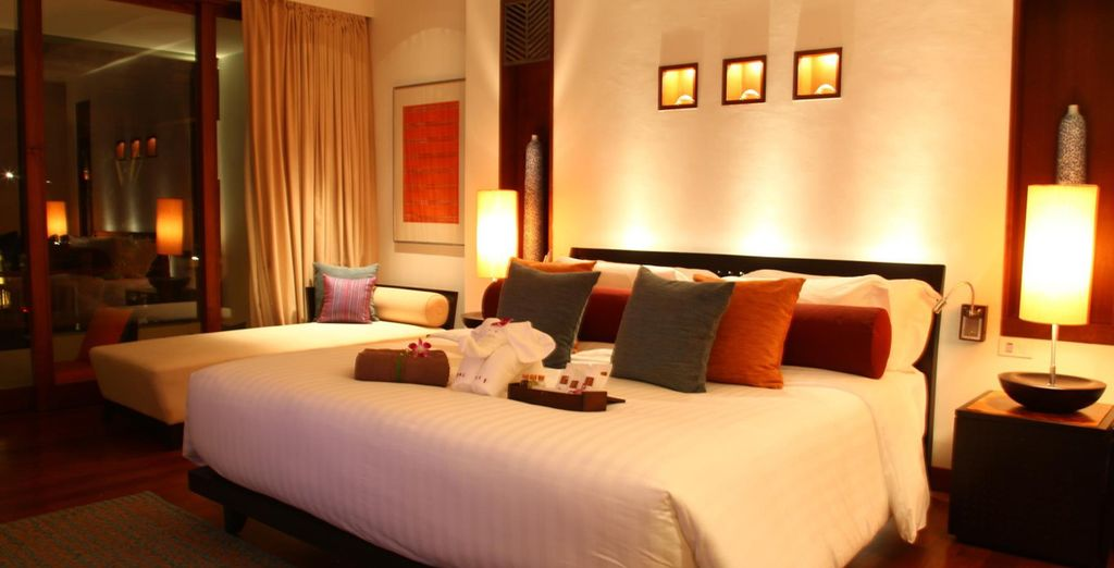 Relax in your luxurious Deluxe Room