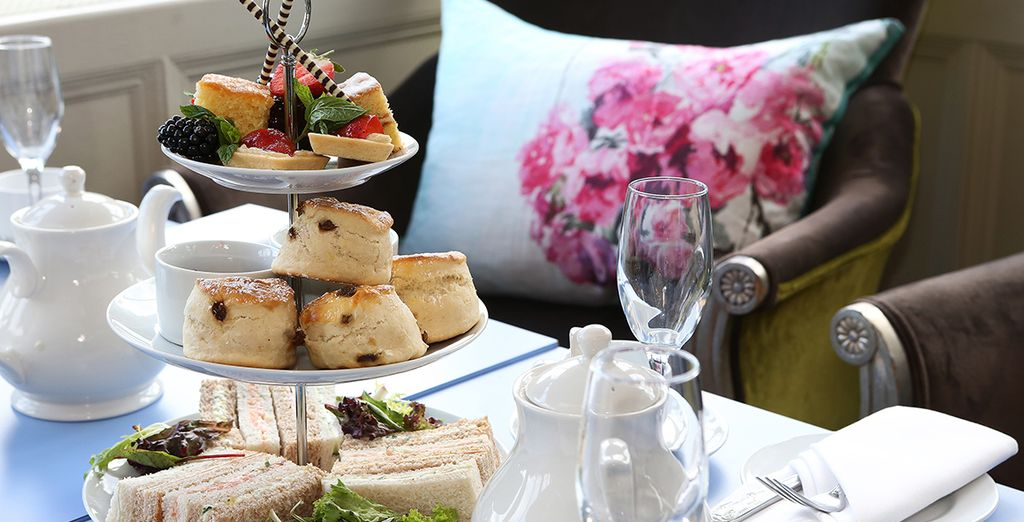 Why not enjoy afternoon tea?