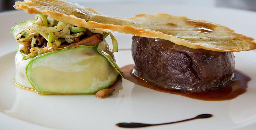 Tuck into delicious, hearty cuisine
