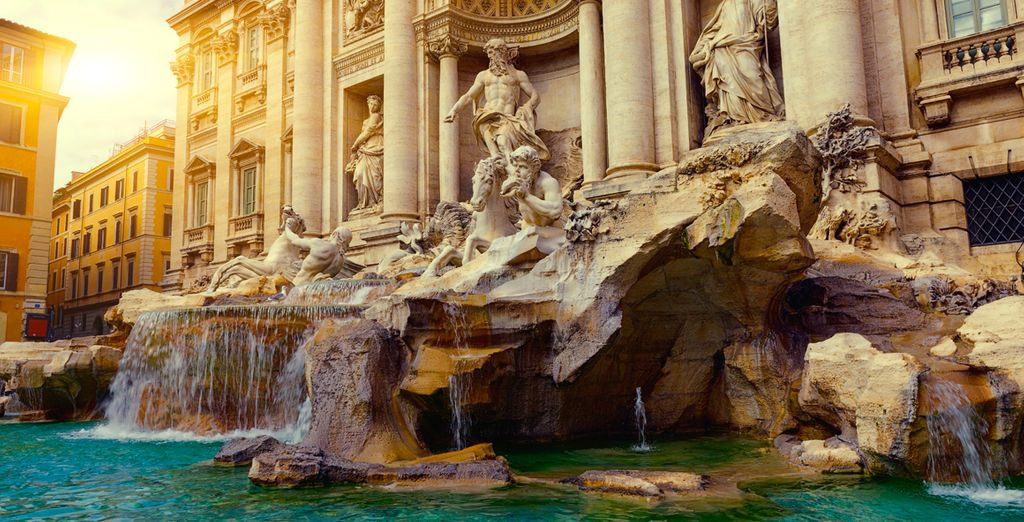 Your adventure begins in either ancient Rome - Regent Seven Seas Voyager Rome
