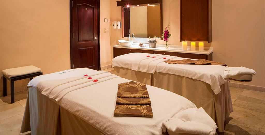 Why not book a massage to truly relax?