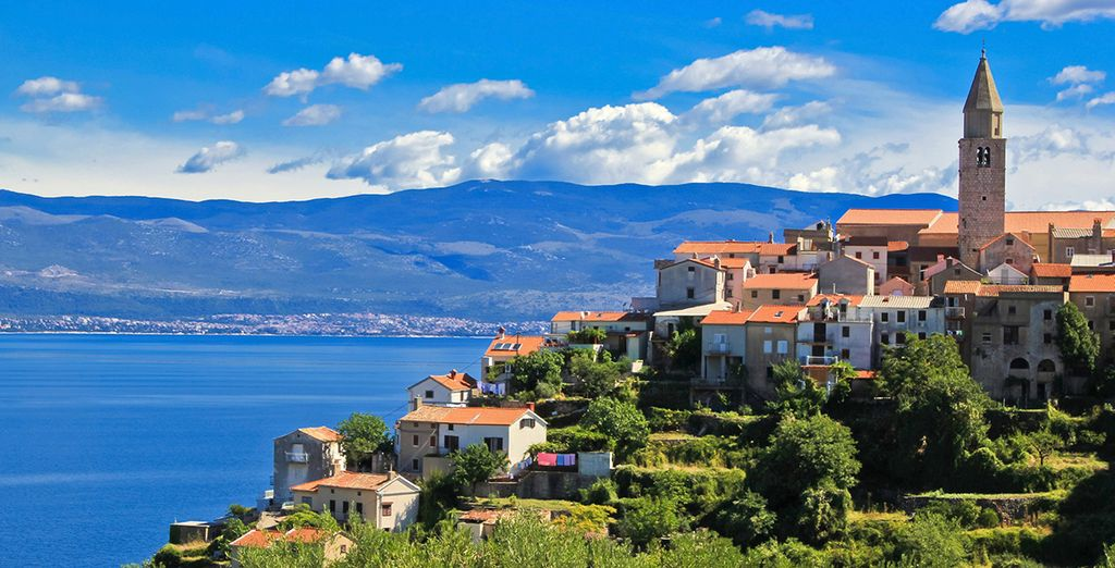 Welcome to Vrbnik - an ancient town on the island of Krk