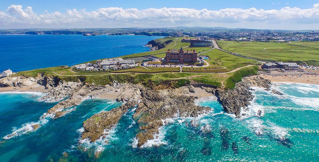 At Cornwall's most iconic hotel